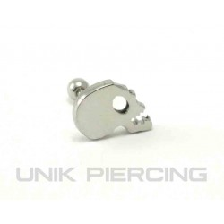 Piercing tragus/cartilage lobe crane