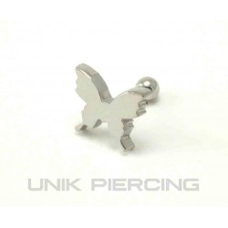 Piercing tragus/cartilage lobe papillon 01