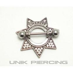 Piercing téton Sheriff