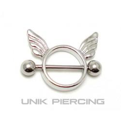 Piercing téton Ange