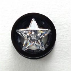 Plug étoile cristal blackline