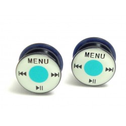 "Plug acrylique logo ""ipod"""