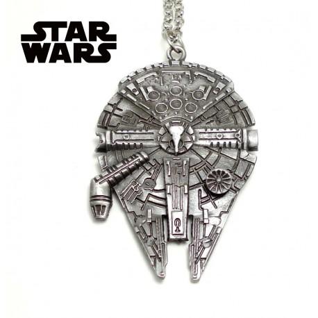 Pendentif collier Star Wars Millennium Falcon