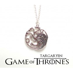 "Pendentif  ""Maison Targaryen""  Game of Thrones"