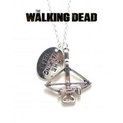 """Pendentif  """" Arbalète de Daryl """" The Walking Dead"""