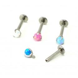 Piercing véritable  pierre Opale d'Australie