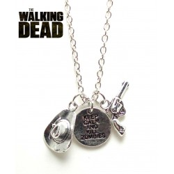 "Pendentif  "" The Walking Dead """