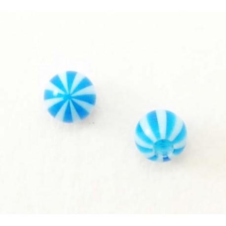 Bille Acrylique ballon bleu 1.2mm