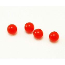 Bille Acrylique 1.6mm rouge
