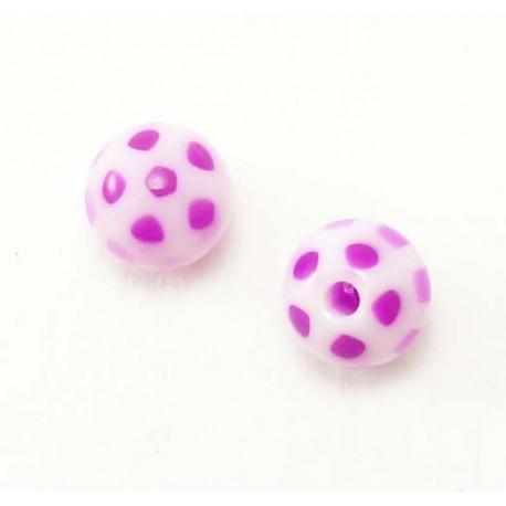 Bille Acrylique 1.6mm  ballon violet