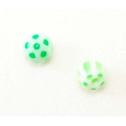Bille Acrylique 1.6mm  ballon vert
