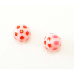 Bille Acrylique 1.6mm  ballon rouge