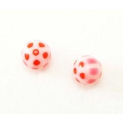 Bille Acrylique 1.6mm  ballon rouge