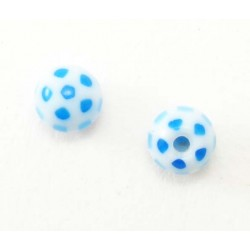 Bille Acrylique 1.6mm  ballon bleu