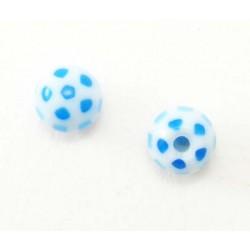 Bille Acrylique 1.6mm  ballon bleu