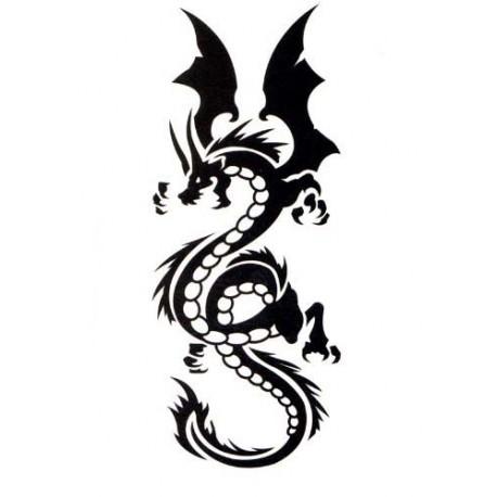 tattoo dragon tribal. Black Bedroom Furniture Sets. Home Design Ideas