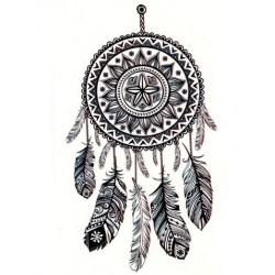 Tattoo Attrape Rêve noir