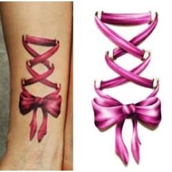 Tattoo Corset violet