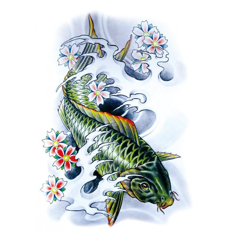Tattoo carpe japonaise for Vente de carpe koi japonaise