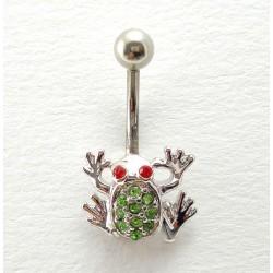 Piercing nombril  petite grenouille