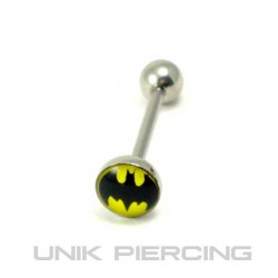 Piercing langue batman