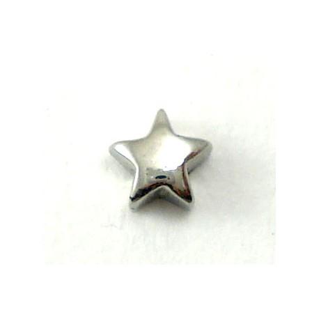 Piercing labret/madona étoile acier
