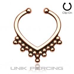 Faux Piercing  perles