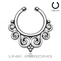 Faux Piercing tribal