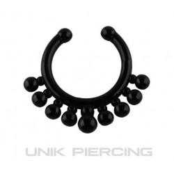 Faux piercing acrylique goutte