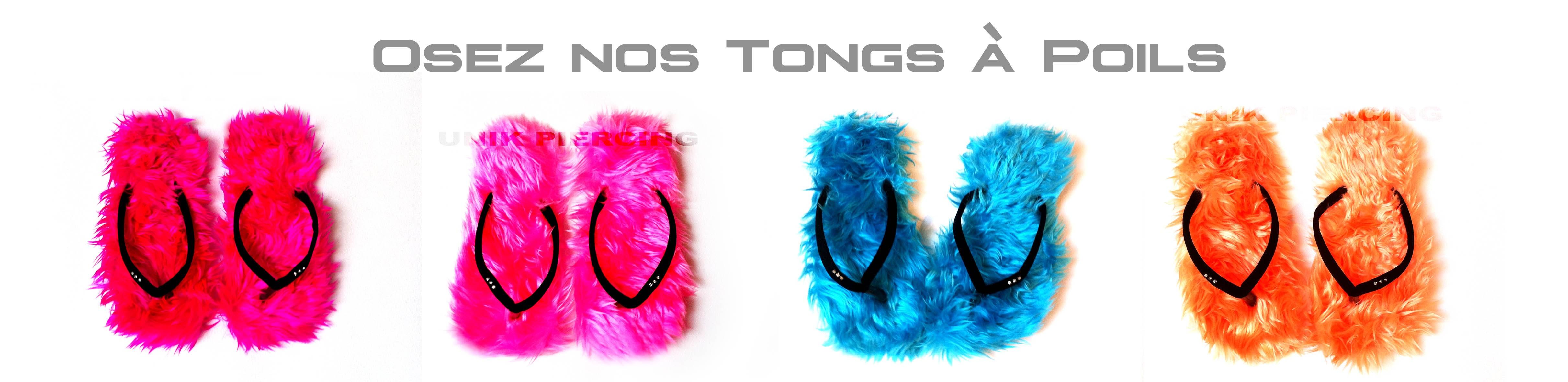 Tongs à Poils
